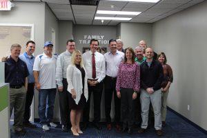 West Virginia Congressman Evan Jenkins Visits C.I. Thornburg